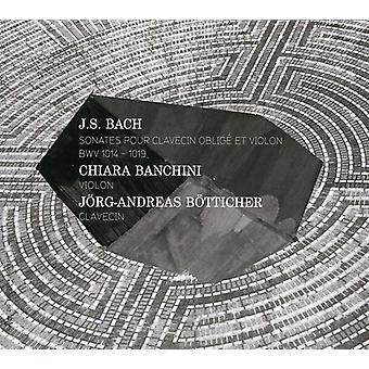 J.S. Bach - Bach: Sonates Pour Clavecin Oblig Et Violon [CD] USA import