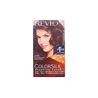 Revlon Colorsilk Tinte Casta¤o Cobrizo Dorado New Womens Sealed Boxed