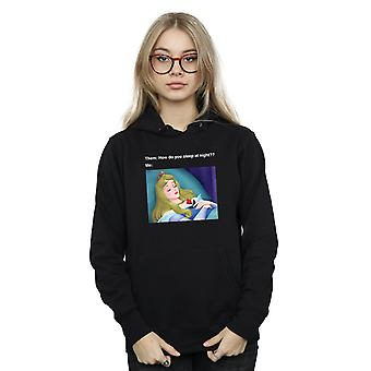 Disney Women's Sleeping Beauty Meme Hoodie