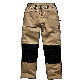 DICKIES Mens GDT290 vêtements de travail pantalons kaki noir WD4930K