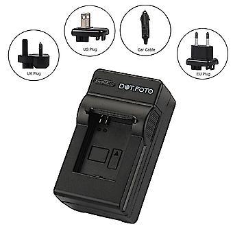 Dot.Foto Nikon EN-EL15 Travel Battery Charger - replaces Nikon MH-25 for Nikon V1, D600, D610, D750, D800, D800E, D810, D7000, D7100, D7200