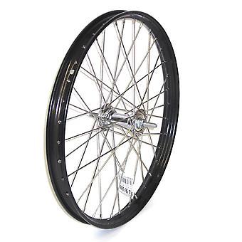 Bike parts 20″ wheel for transport bicycle / / black, steel