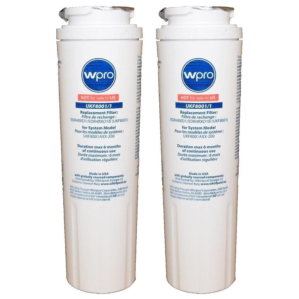 2 x Maytag AC2228HEKB and AS2628HEKB Fridge Water Filter ReplaceHommest UKF8001 1