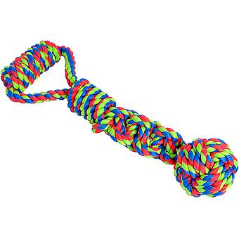 Petface Rope Ball Tugger Dog Toy-