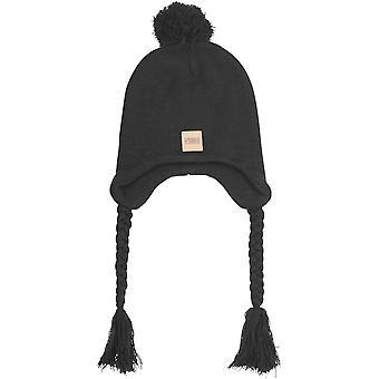 Urban Classics - Pompom Knit Beanie Wintermütze black