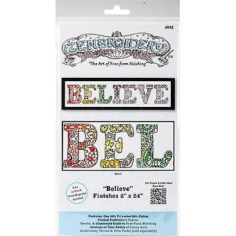 Design Works/Zenbroidery Stamped Embroidery 12