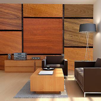 Wallpaper - cubos de madera