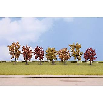 Tree set Autumn trees 80 up to 100 mm NOCH 25070 Autumn 7 pc(s)