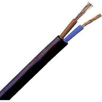 Kopp 152210845 Flexible cable H03VV-F 2 x 0.75 mm² Black 10 m