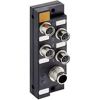 Sensor & actuator box (passive) M8 + steel thread ASBSM 4/LED 3 65305 Lumberg Automation 1 pc(s)