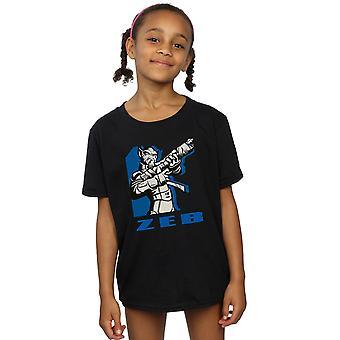 Star Wars Girls Rebels Zeb T-Shirt