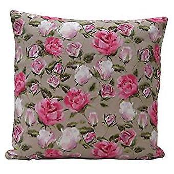 English Rose Design Cushion