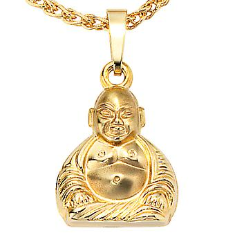 Followers of BUDDHA jewel gold 333 for chain necklace