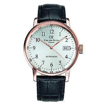 Carl of Zeyten men's watch wristwatch automatic Gutach CVZ0009RWH