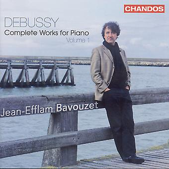 C. Debussy - Debussy: Complete Works for Piano, Vol. 1 [CD] USA import