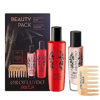 Revlon азиатской красоты Сыворотка шампунь & Peine, Orofluido