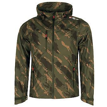 Diem Mens Litetech Jacket Hooded Full Zip Long Sleeve Fishing Coat Top