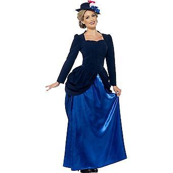 b7e32f28180e8 Vixen wiktoriański Pokój kostium, UK 12-14