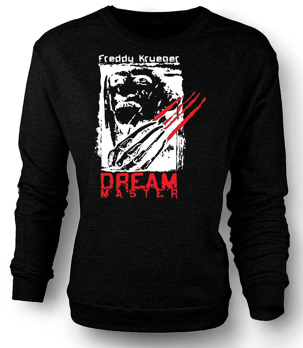 Mens Sweatshirt Freddy Krueger Dream Master - Horror