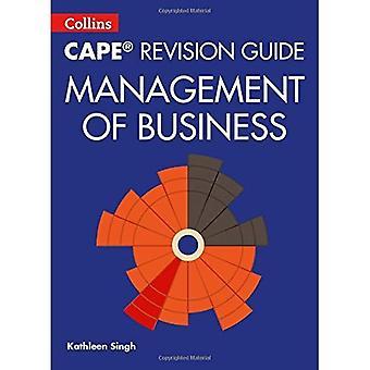 Collins CAPE Revision Guide - förvaltning av Business