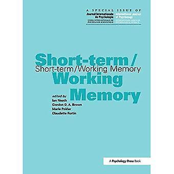 Kort-sikt/arbetsminnet ett specialnummer av den internationella tidskriften av psykologi