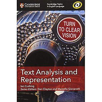 Text Analysis and Representation
