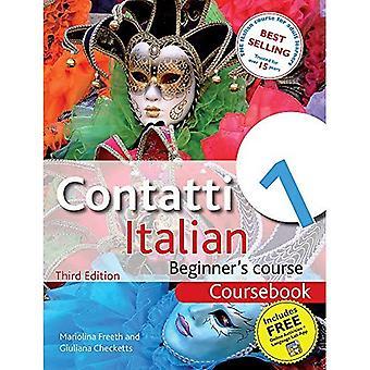 Contatti 1: Kursboken: italienska nybörjarkursen