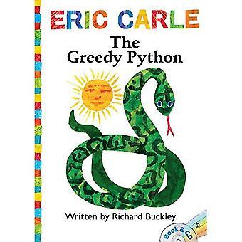 The Greedy Python: Book & CD (World of Eric Carle)