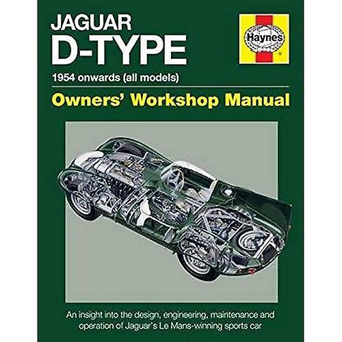 Jaguar D-Type 1954 Onwards (All Models)