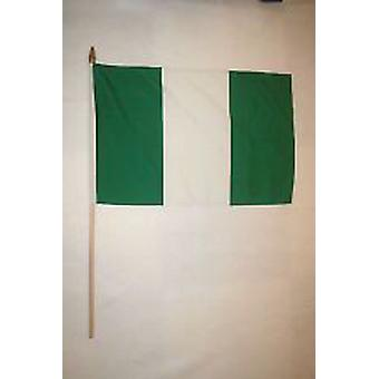 Nigeria Hand Held Flag