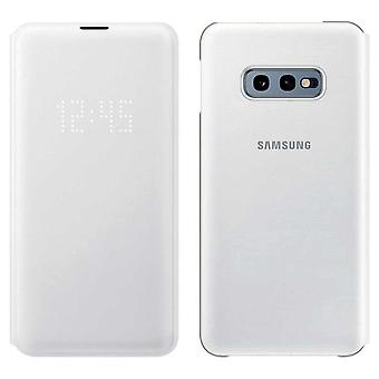 Samsung LED view cover white for Samsung Galaxy S10e G970F EF NG970PWEGWW bag case protective cover