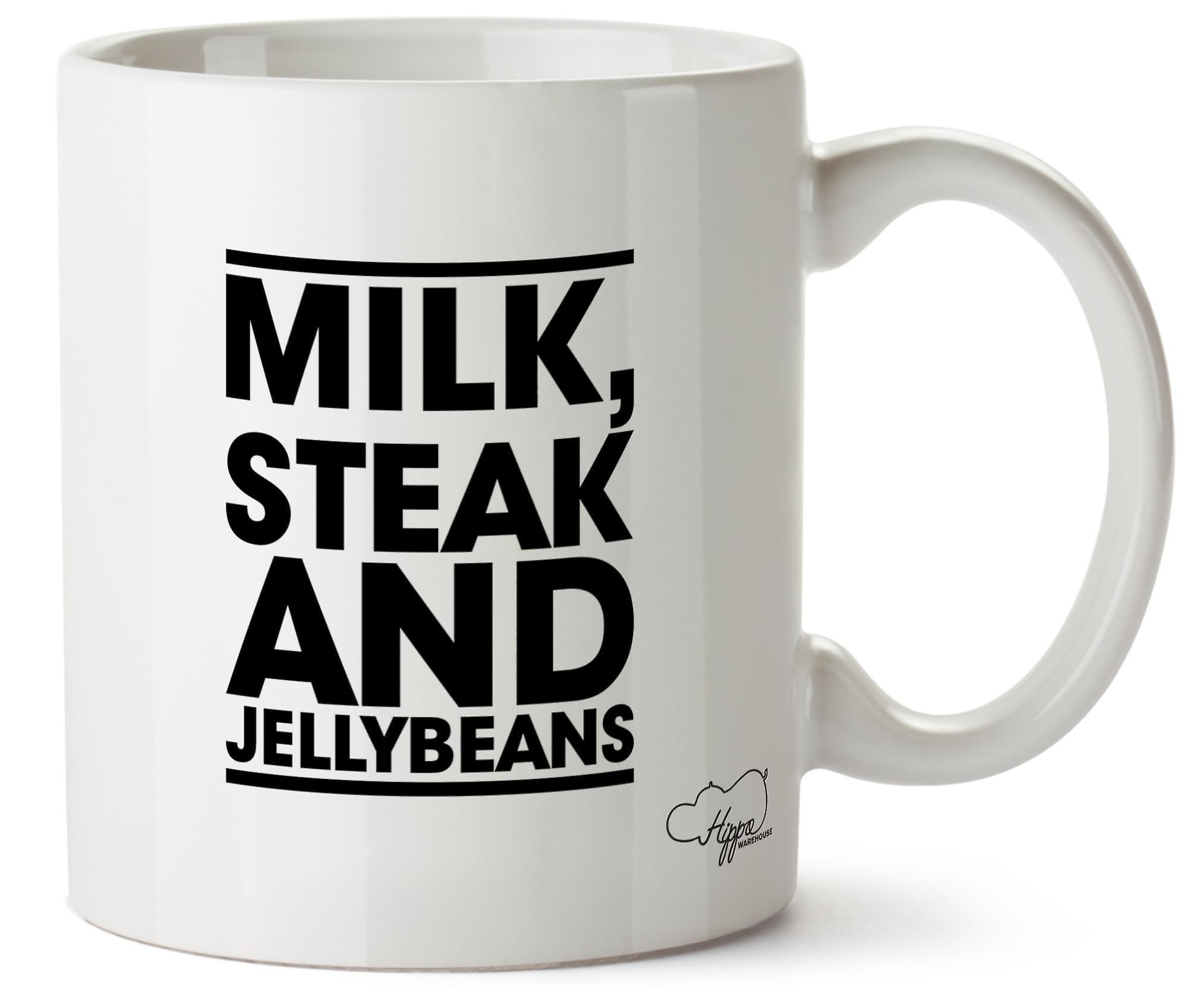Imprimé Tasse Hippowarehouse Mug Céramique 10oz Steak Lait Bonbons Et NOvm8nwy0