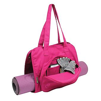 Fitness Mad Yoga and Pilates Mat Carry Bag in Pink