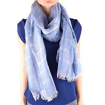 Altea Light Blue Linen Shawl