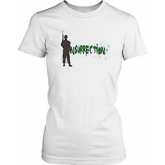 Opstand Soldier - samenzwering dames T Shirt