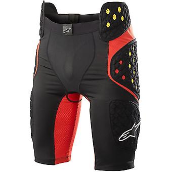 Alpinestars Black Red 2019 Bionic Pro MTB Schutz Shorts