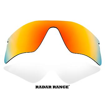 RADAR RANGE Replacement Lenses Polarized Red Mirror by SEEK fits OAKLEY