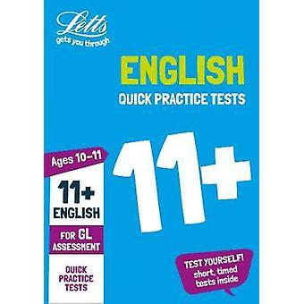 11 + anglais rapide pratique 10-11 ans des Tests pour le test d'évaluation de GL