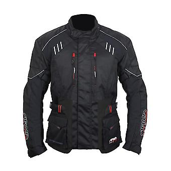 ARMR Moto Black 2019 Kiso 3 Womens Motorcycle Waterproof Jacket