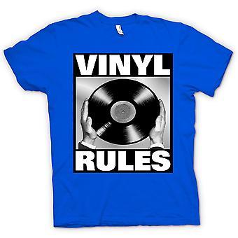 Kids T-shirt - Vinyl regels - DJ mixen