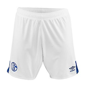 2019-2020 Schalke Home Football Shorts (Blanco)