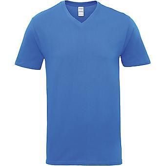 Gildan - Premium Baumwolle Herren V-Ausschnitt T-Shirt