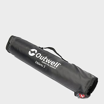 New Outwell Delano 5 Tent Carpet Grey