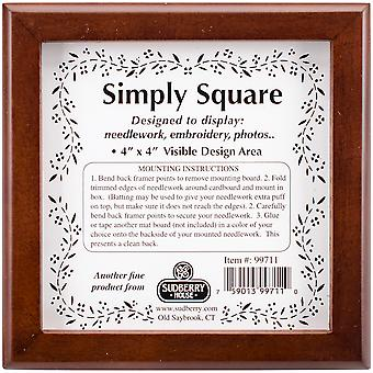 Mahogany Simply Square Box 5