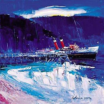 John Lowrie Morrison print - Maid of the Loch at Balloch