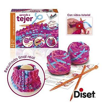 Diset I learn to knit (Toys , Educative And Creative , Electronics)