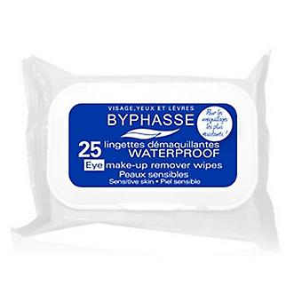 Byphasse Waterproof up Removers Sensitive Skin Wipes 25 Units