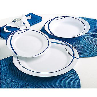 Luminarc Tableware 18 pieces Fairy Navy