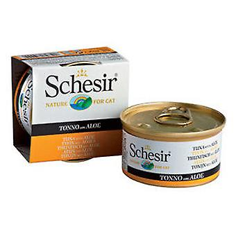 Schesir Tuna With aloe Jelly (Cats , Cat Food , Wet Food)