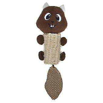 Arquivet Natural Brown Rabbit Range (Cats , Toys , Plush & Feather Toys)